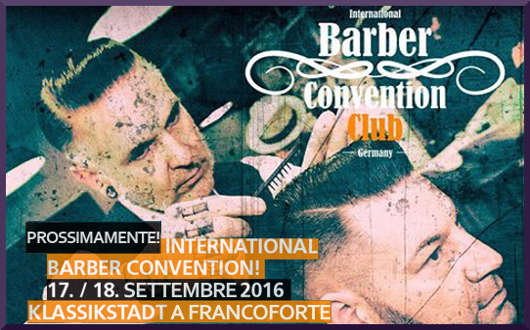 Barber Convention Club 2016 con Solomon's Beard